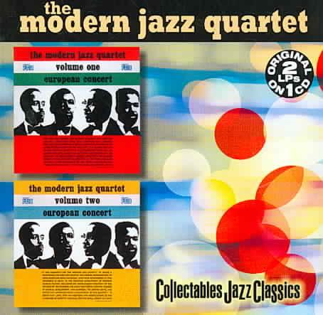 EUROPEAN CONCERT VOL 1 & 2 BY MODERN JAZZ QUARTET (CD)